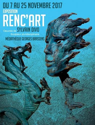 Exposition Renc'art, Sylvain Divo  