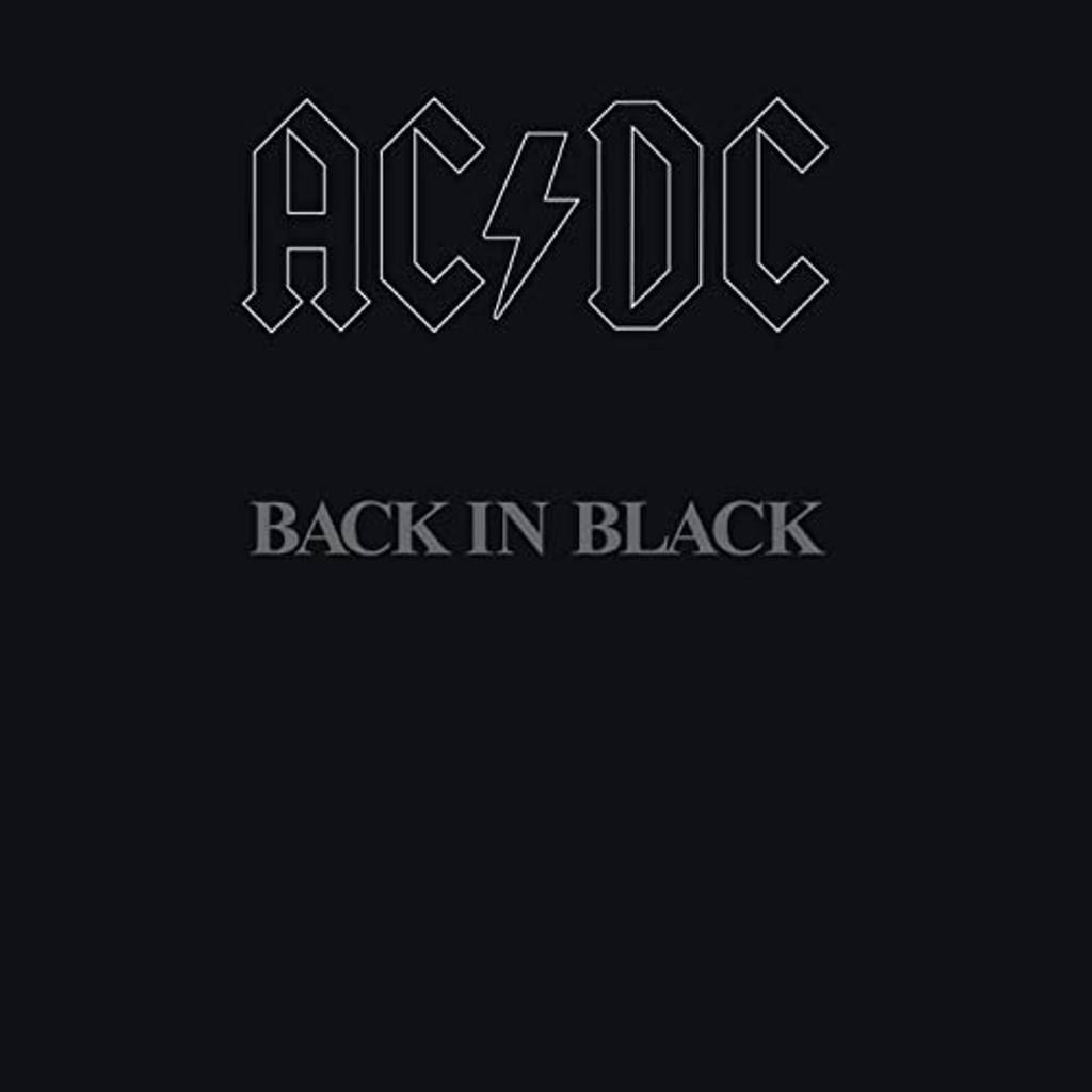 Back in black / AC/CD, gr. voc. et instr.   AC/DC. Interprète