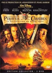 Pirates des Caraïbes = Pirates of Caribbean curse of black pear : Malédiction du Black Pearl (La) / Gore Verbinski, Réal. | VERBINSKI, Gore. Monteur