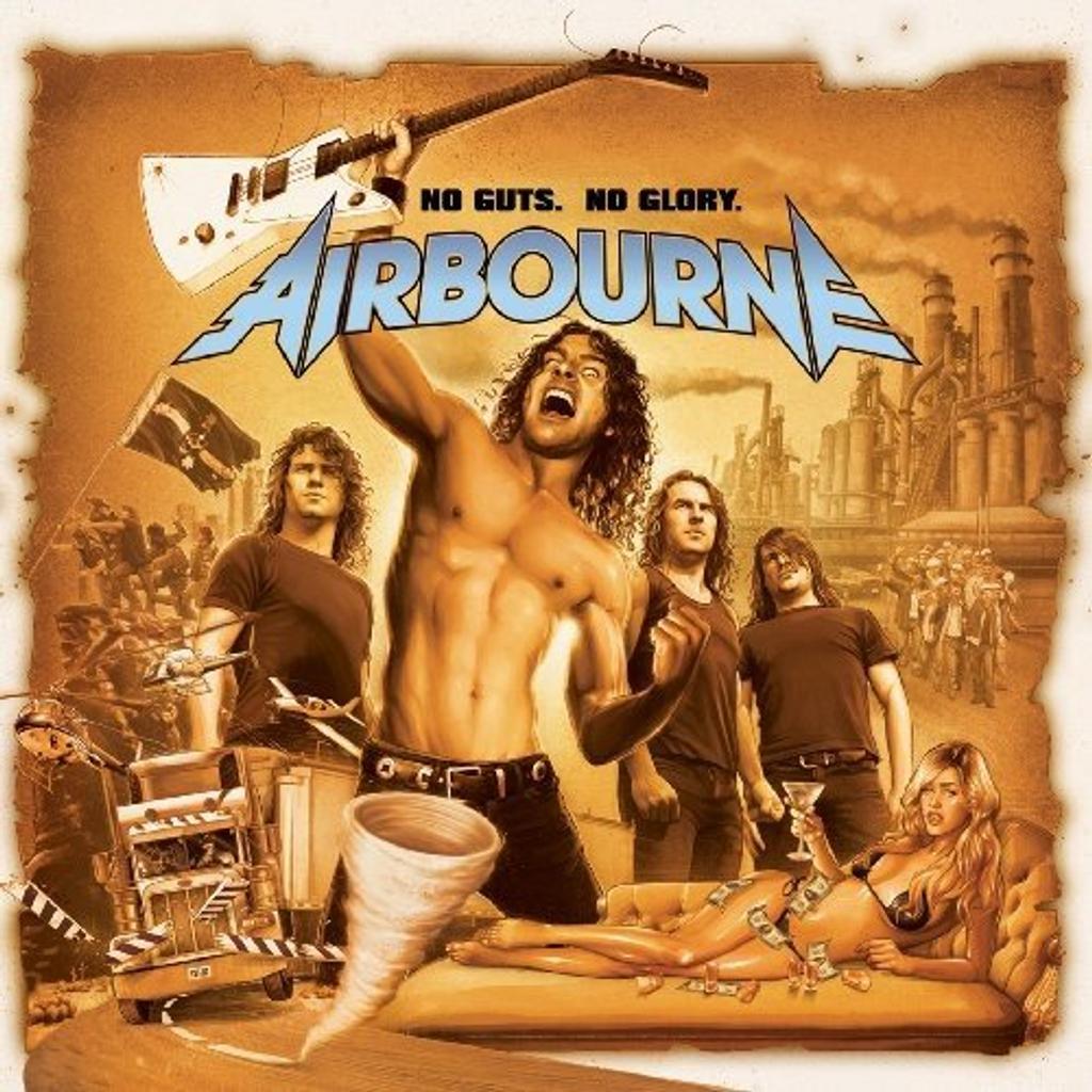 No guts, no glory / Airbourne   AIRBOURNE. Interprète